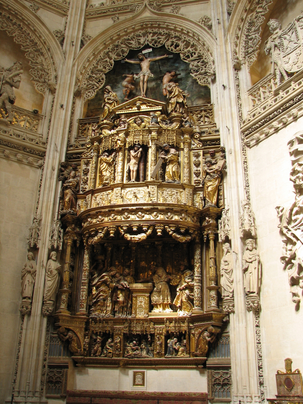 Retablo Capilla de los CondestablesChapel of The ...