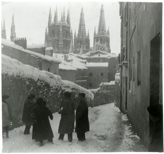 catedral burgos nevada