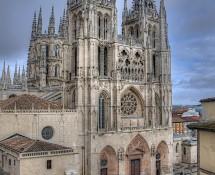 Fachada de Santa María Catedral de Burgos